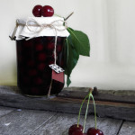 water bath canning sour cherries